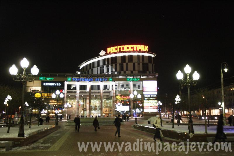 In pictures: Kaliningrad by night, Russia