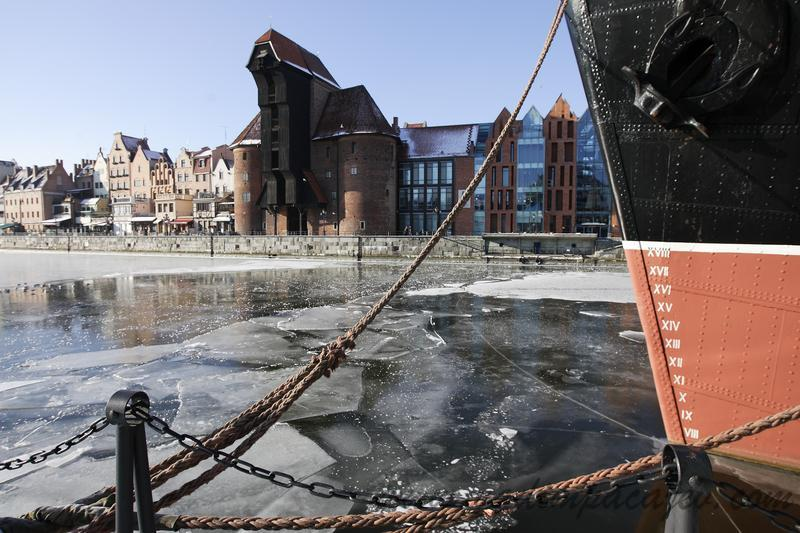 Poland weather: High frost hits Gdansk.