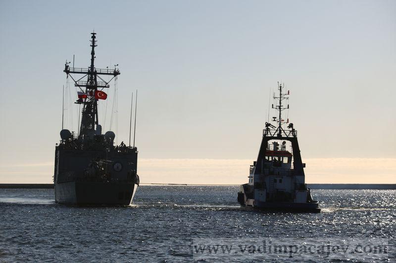 Turkish frigate TCG Gaziantep visits Gdynia Port, Poland