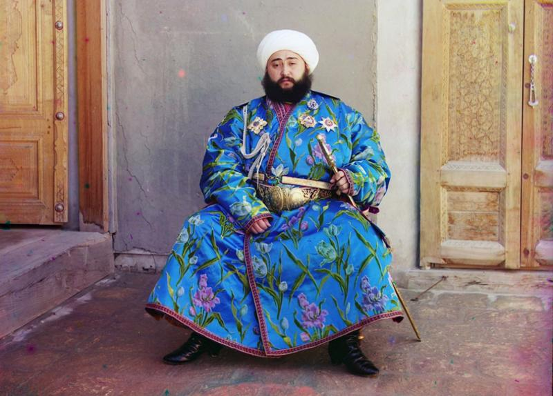 Emir bucharski Said Alim Han - 1910 rok