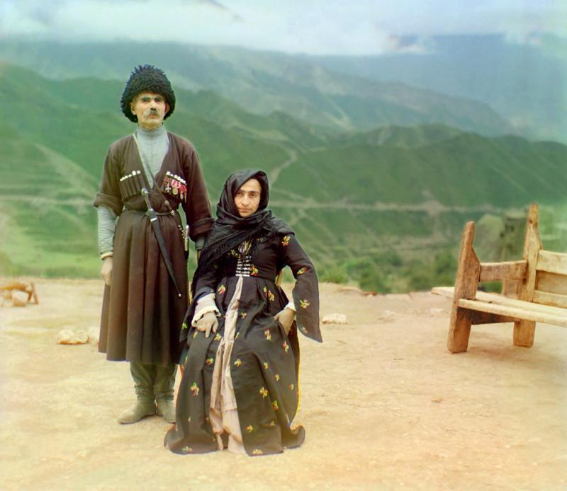 Mieszkańcy Dagestanu, 1912 rok
