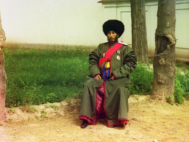 Esfandiar Yuri Bahadur, han miasta Horezm (obecnie Uzbekistan) 1910 rok