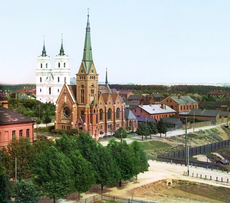 Kościół katolicki w Dwińsku, 1912 rok