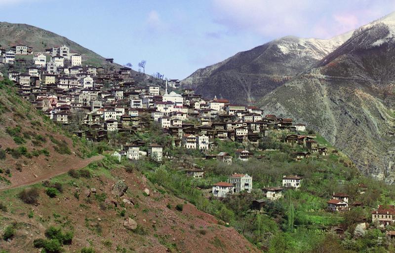 Miasteczko Artwin (obecnie Turcja) 1910 rok