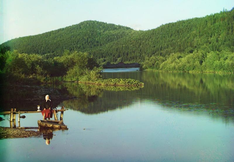 Rzeka Sim, 1910 rok