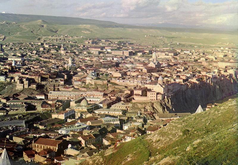 Tibilisi , Gruzja 1910 rok