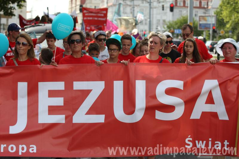 March for Jesus in Gdansk, Poland