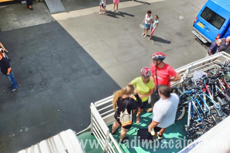 Pilnowali rowerów do końca... nikt im nie ukradł, misja wypełniona