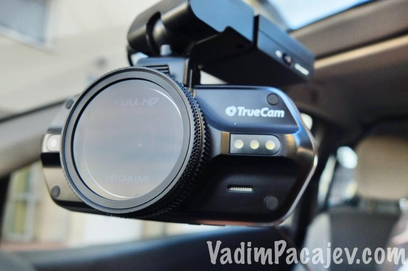 Kamera z założonym filtrem polaryzacyjnym