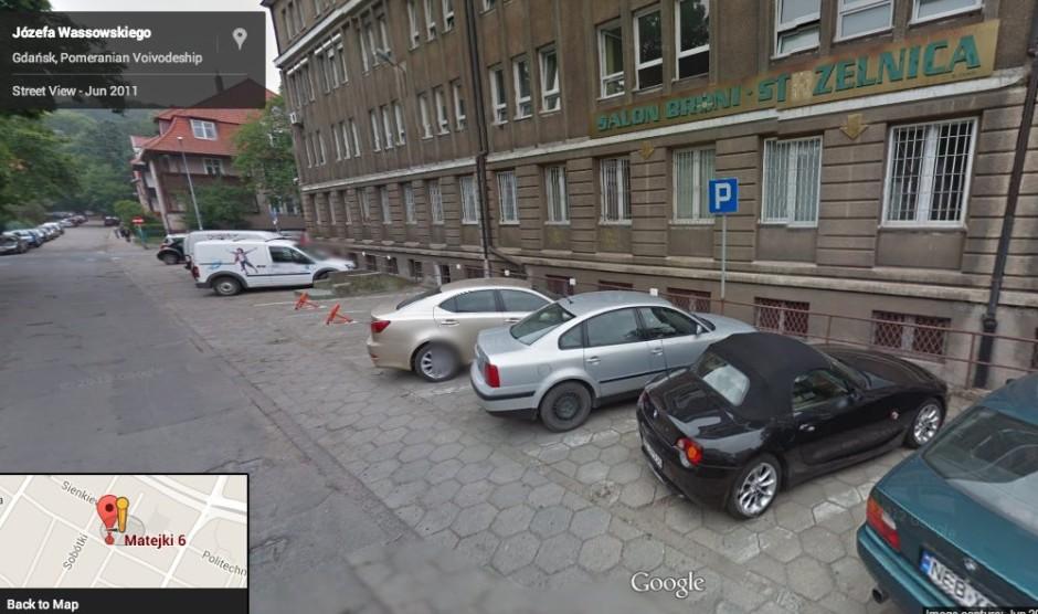 Strzelnica przy Matejki w Gdańsku