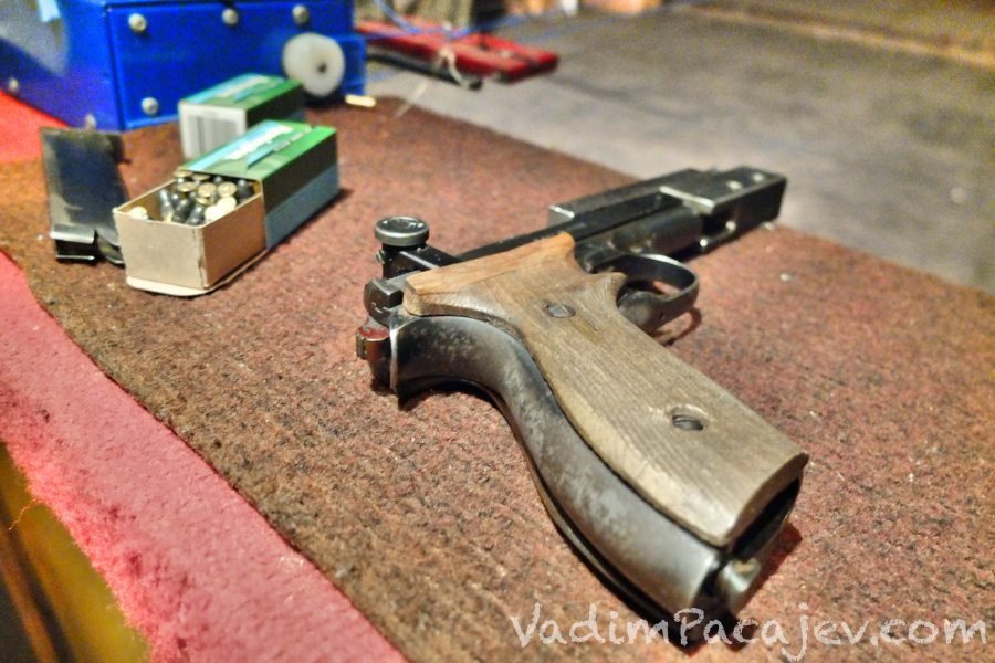 pistolet sportowy cal .22LR Margolin