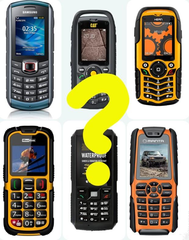 telefony odporne