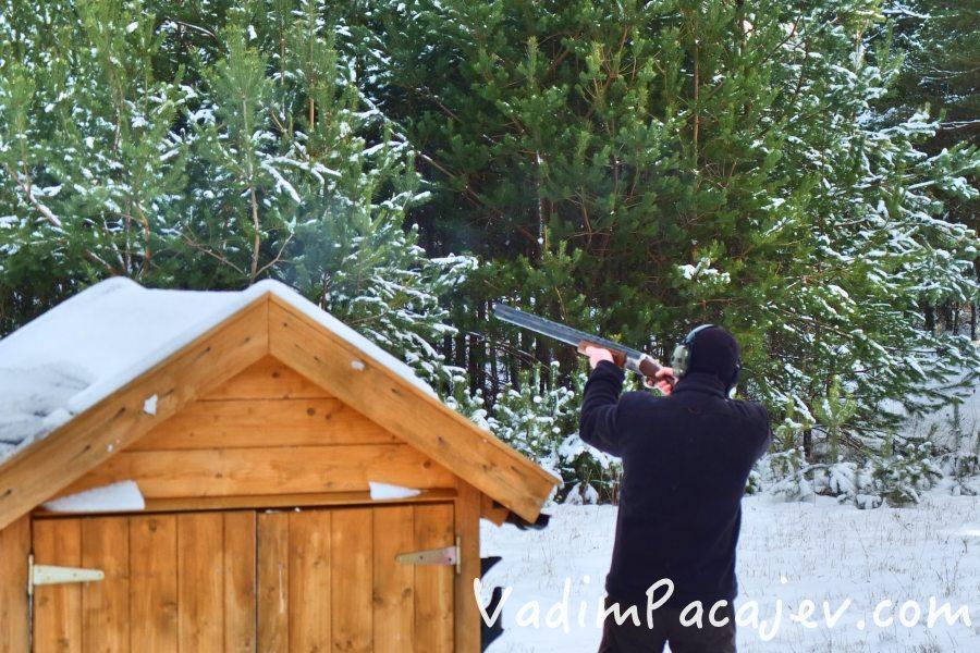 Strzelanie TRAP-a w Lublewie