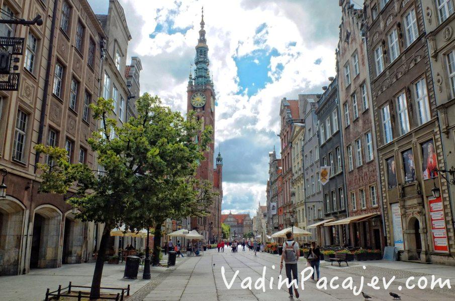 Gdansk, 11.07.015 n z ul Dluga, Ratusz Glownomiejski, Ratusz Glownego Miasta fot. MIchal Fludra / Newspix.pl