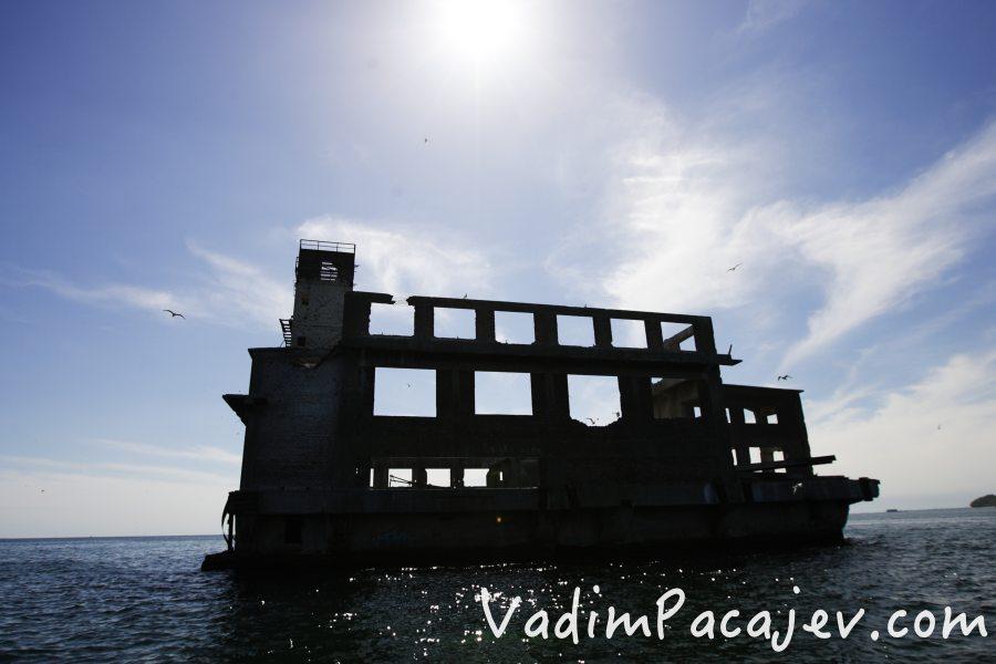 Torpedowania w Babich Dołach fot. Vadim Pacajev
