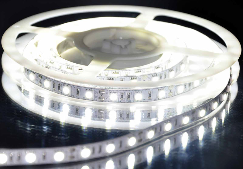 pure_white_5050_SMD_flexible_300_LED_strip_light_ribbon
