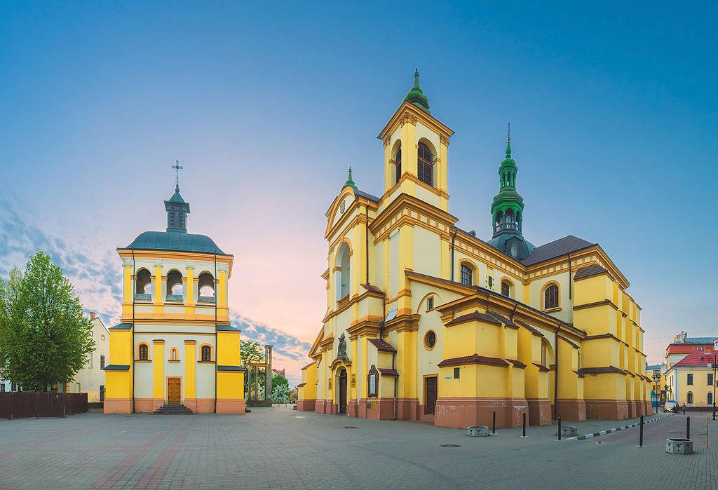 Kolegiata Matki Boskiej, zwana też Stanisławowską Kolegiatą, Iwano-Frankiwsk fot. Vian/Wikipedia