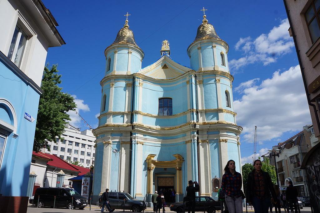 Dawna Katedra Ormiańska, Iwano-Frankiwsk fot. Skoropadsky/Wikipedia