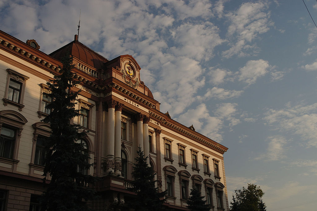 Polski ratusz w Iwano-Frankiwsku fot. Haidamac/Wikipedia